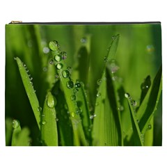 Grass Drops Cosmetic Bag (xxxl)