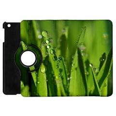 Grass Drops Apple iPad Mini Flip 360 Case