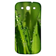 Grass Drops Samsung Galaxy S3 S Iii Classic Hardshell Back Case