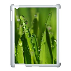 Grass Drops Apple Ipad 3/4 Case (white)