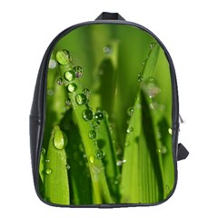 Grass Drops School Bag (XL)
