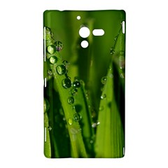 Grass Drops Sony Xperia ZL L35H Hardshell Case
