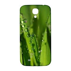 Grass Drops Samsung Galaxy S4 I9500/I9505  Hardshell Back Case