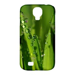 Grass Drops Samsung Galaxy S4 Classic Hardshell Case (pc+silicone)