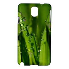 Grass Drops Samsung Galaxy Note 3 N9005 Hardshell Case