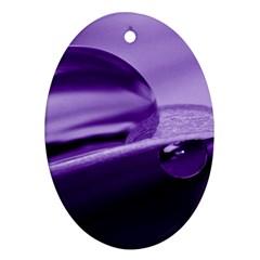 Drops Oval Ornament