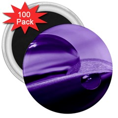 Drops 3  Button Magnet (100 pack)
