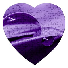 Drops Jigsaw Puzzle (Heart)