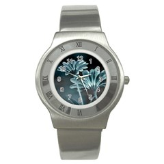 Osterspermum Stainless Steel Watch (Slim)
