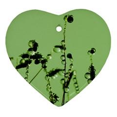 Mint Drops  Heart Ornament