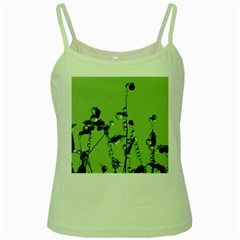 Mint Drops  Green Spaghetti Tank