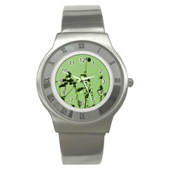 Mint Drops  Stainless Steel Watch (Slim)
