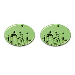 Mint Drops  Cufflinks (Oval)