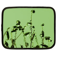 Mint Drops  Netbook Sleeve (Large)