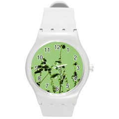Mint Drops  Plastic Sport Watch (medium)