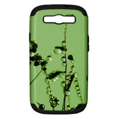 Mint Drops  Samsung Galaxy S III Hardshell Case (PC+Silicone)