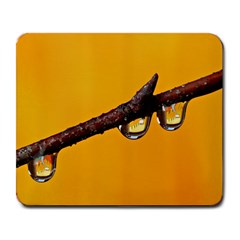 Tree Drops  Large Mouse Pad (rectangle)