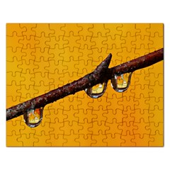 Tree Drops  Jigsaw Puzzle (Rectangle)