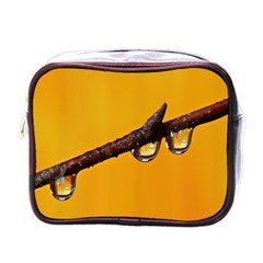 Tree Drops  Mini Travel Toiletry Bag (One Side)
