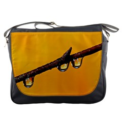 Tree Drops  Messenger Bag