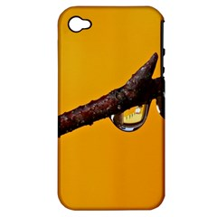 Tree Drops  Apple iPhone 4/4S Hardshell Case (PC+Silicone)