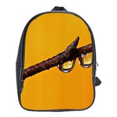 Tree Drops  School Bag (XL)