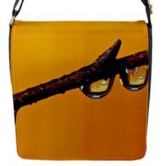 Tree Drops  Flap Closure Messenger Bag (Small)