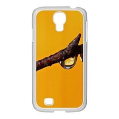 Tree Drops  Samsung GALAXY S4 I9500/ I9505 Case (White)