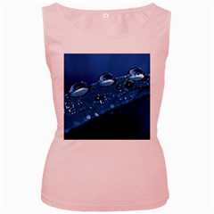 Drops Womens  Tank Top (Pink)