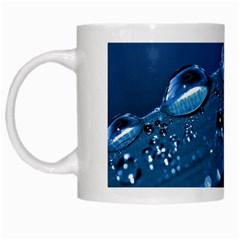 Drops White Coffee Mug