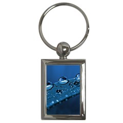 Drops Key Chain (Rectangle)