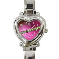 Drops Heart Italian Charm Watch