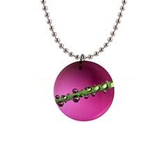 Drops Button Necklace