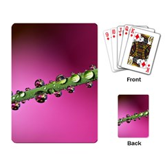 Drops Playing Cards Single Design