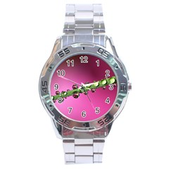 Drops Stainless Steel Watch