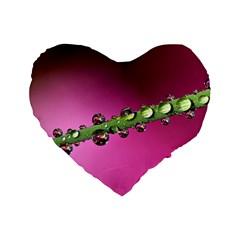 Drops 16  Premium Heart Shape Cushion