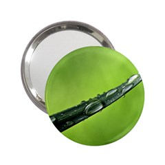 Green Drops Handbag Mirror (2.25 )