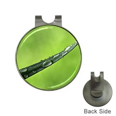 Green Drops Hat Clip With Golf Ball Marker