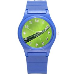 Green Drops Plastic Sport Watch (Small)