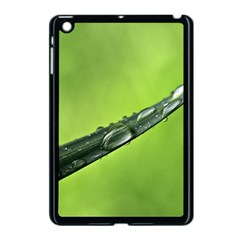 Green Drops Apple iPad Mini Case (Black)