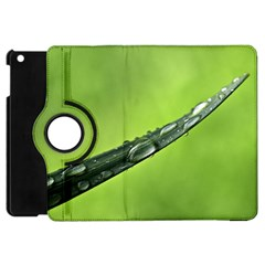 Green Drops Apple iPad Mini Flip 360 Case