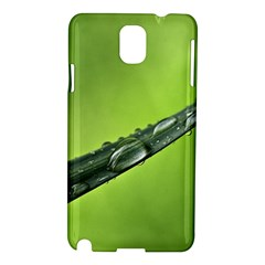 Green Drops Samsung Galaxy Note 3 N9005 Hardshell Case