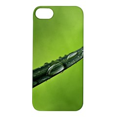 Green Drops Apple iPhone 5S Hardshell Case