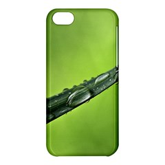 Green Drops Apple iPhone 5C Hardshell Case