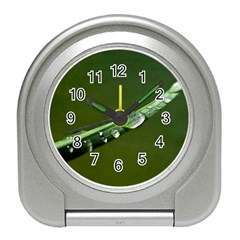 Grass Drops Desk Alarm Clock