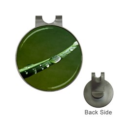 Grass Drops Hat Clip with Golf Ball Marker