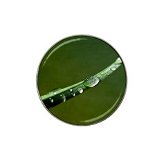 Grass Drops Golf Ball Marker 4 Pack (for Hat Clip)