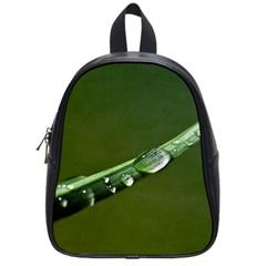 Grass Drops School Bag (Small)