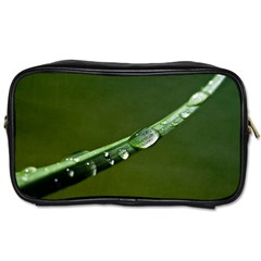 Grass Drops Travel Toiletry Bag (one Side)