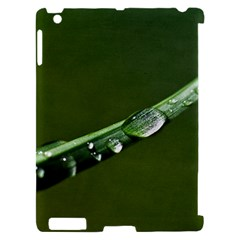 Grass Drops Apple iPad 2 Hardshell Case (Compatible with Smart Cover)